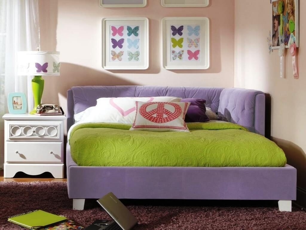 Look Corner Storage Bed