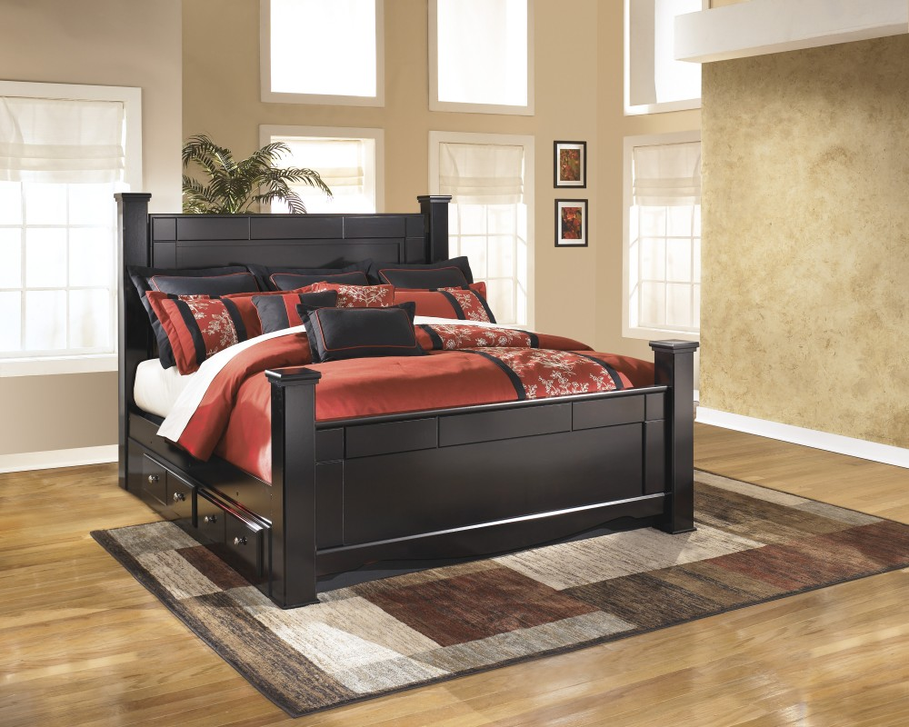 Picture of: Mode Bed with Underbed Storage