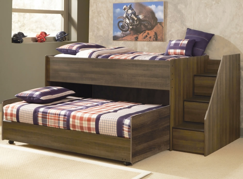 Picture of: Modern Ashley Furniture Storage Bed