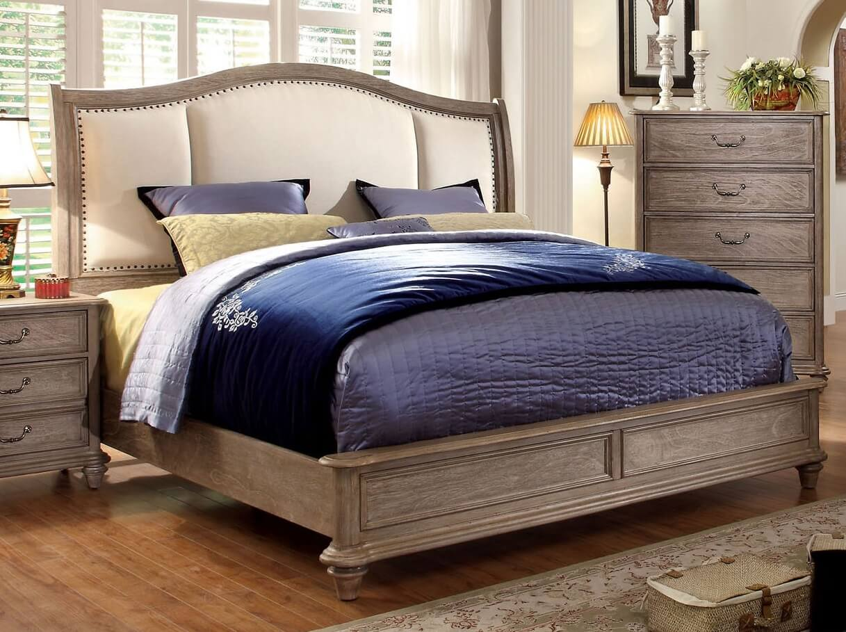 Modern Rustic Storage Bed