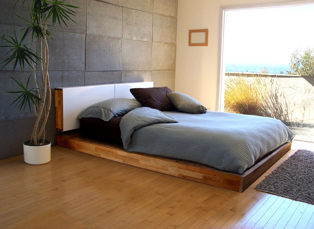 Picture of: Modern Storage Bed and Landscaping