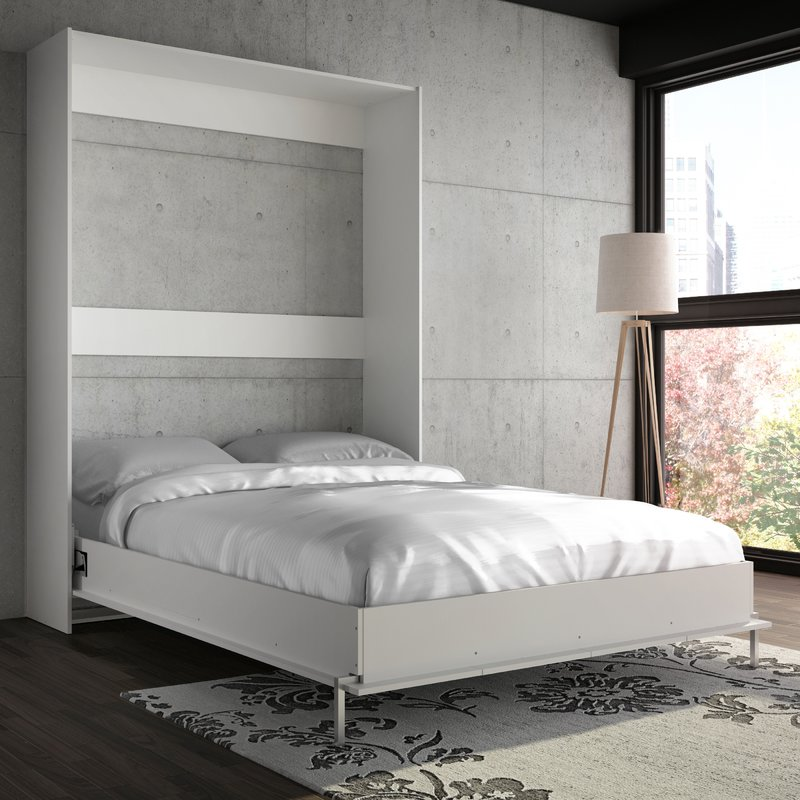 Picture of: Modern Wall Bed with Storage