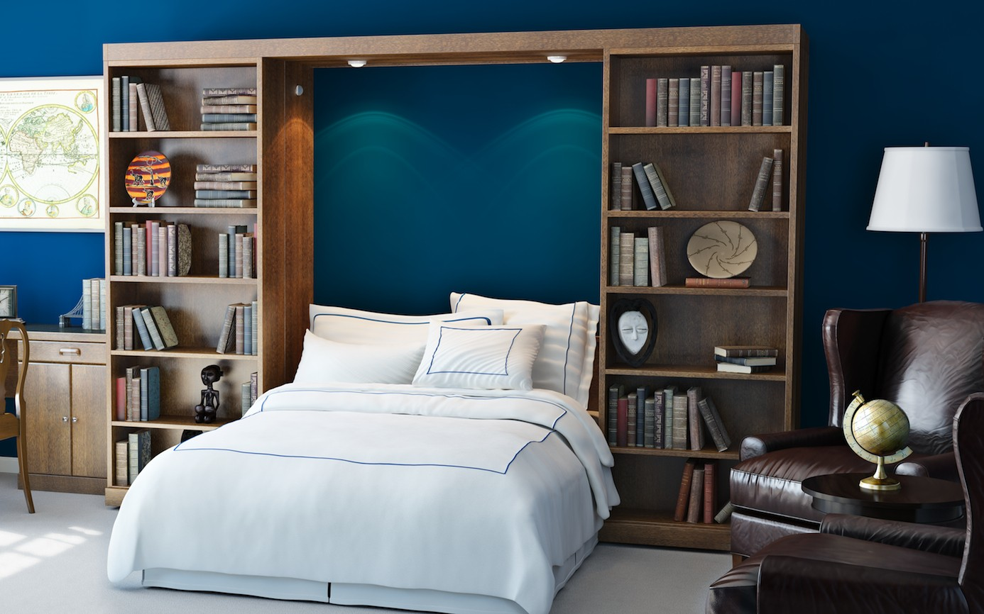 Murphy Bed With Storage Frame