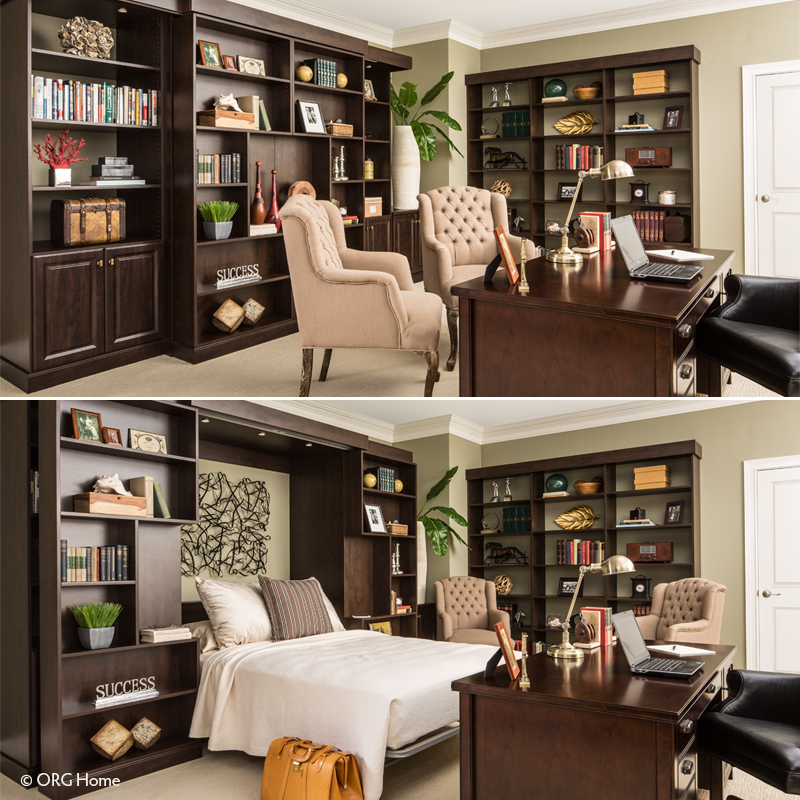 Image of: Murphy Bed With Storage Modern