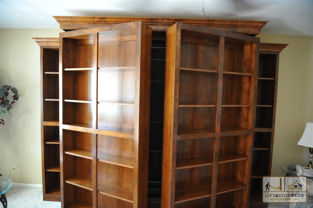 Image of: Murphy Bed with Storage System