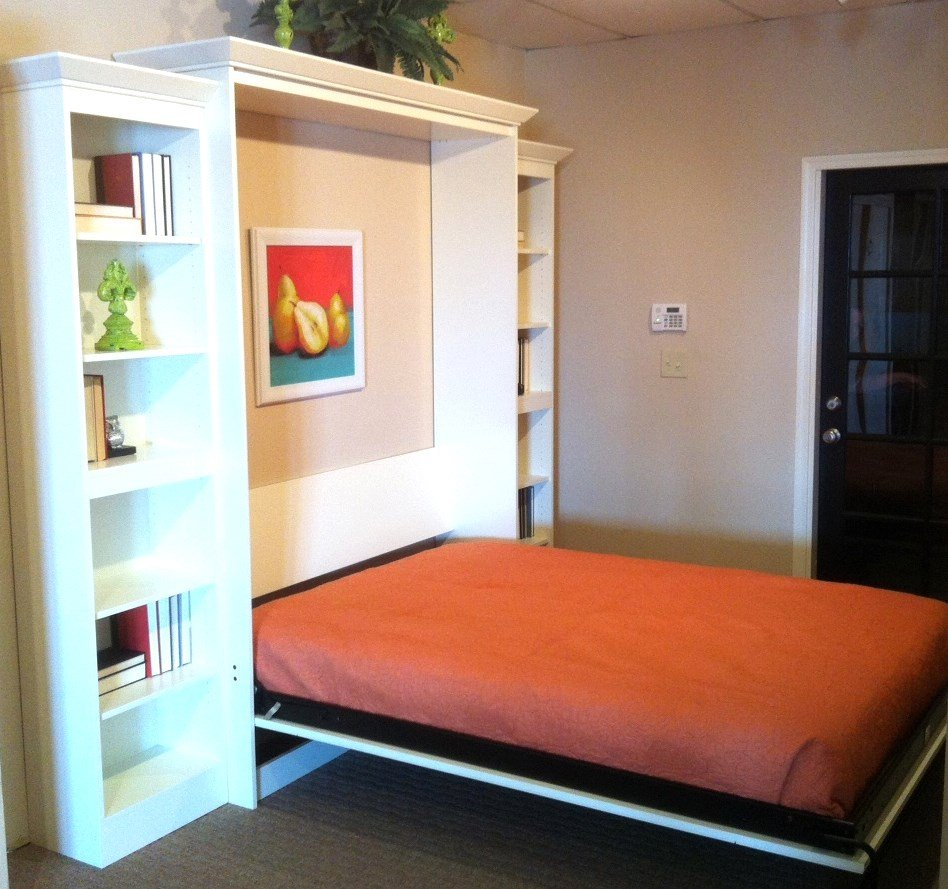 Picture of: Murphy Wall Bed Shelf
