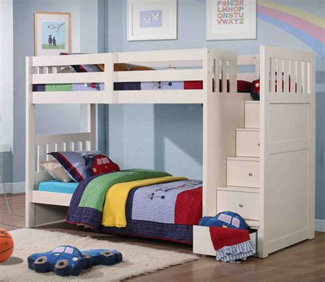 Image of: Nice Bunk Bed with Storage Stairs