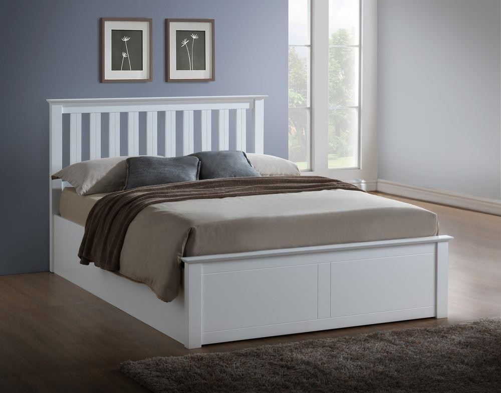 Image of: Nice Ottoman Storage Bed
