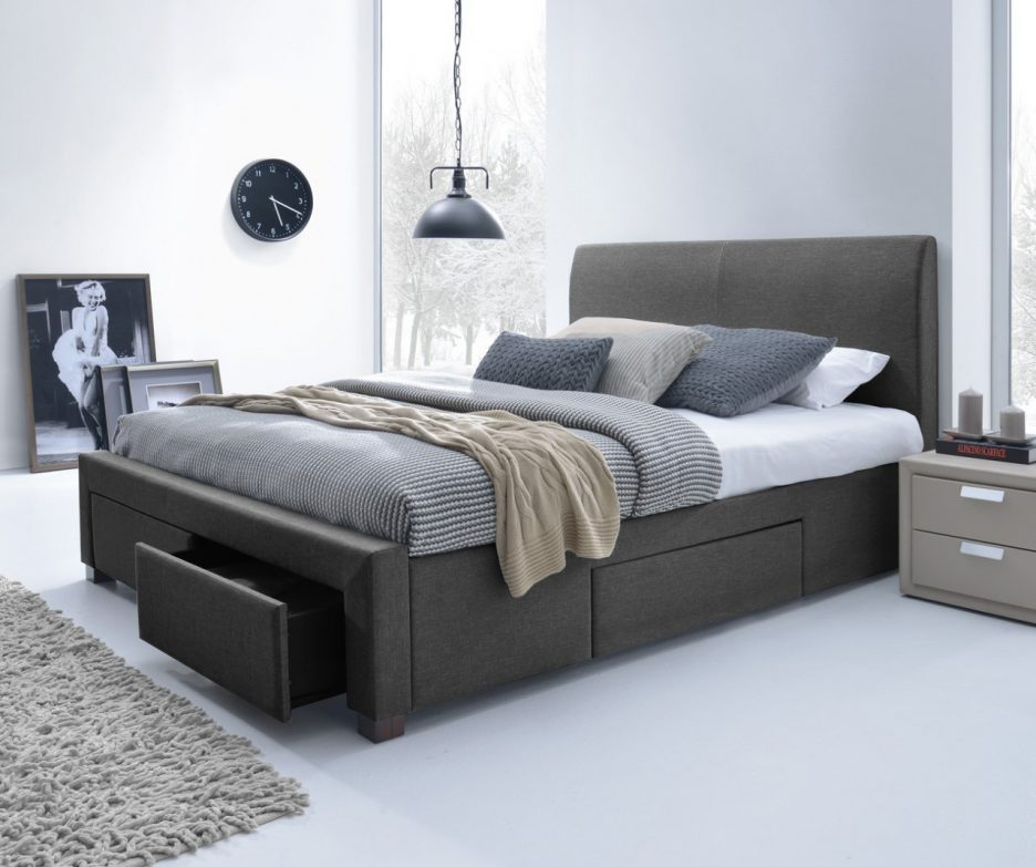 Image of: Nice Xl Twin Bed with Storage
