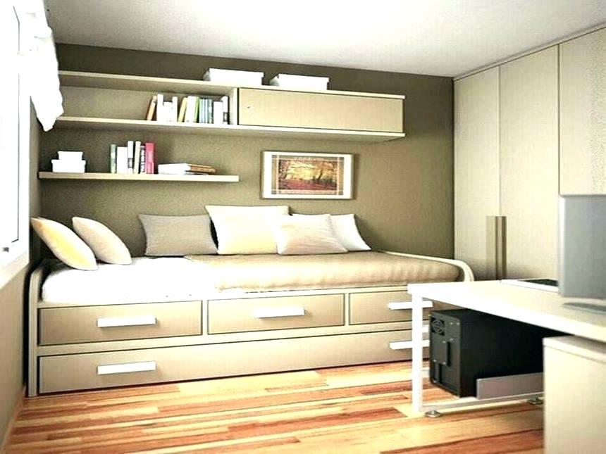 Picture of: Over Bed Storage Idea