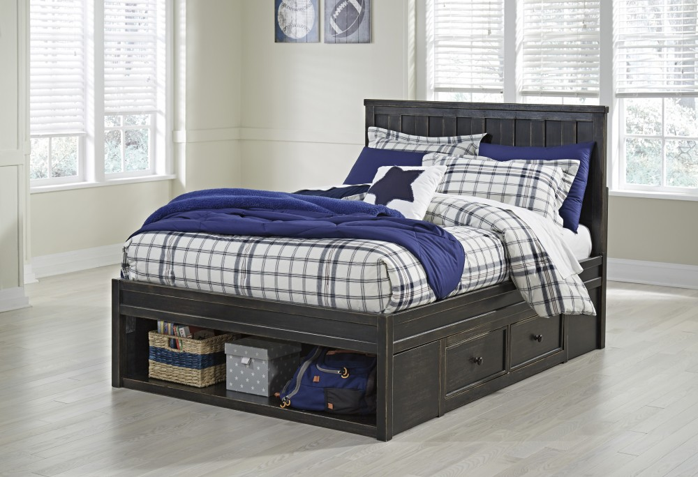 Panel Twin Storage Bed