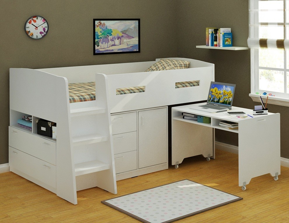 Picture of: Perfect Bunk Bed with Storage