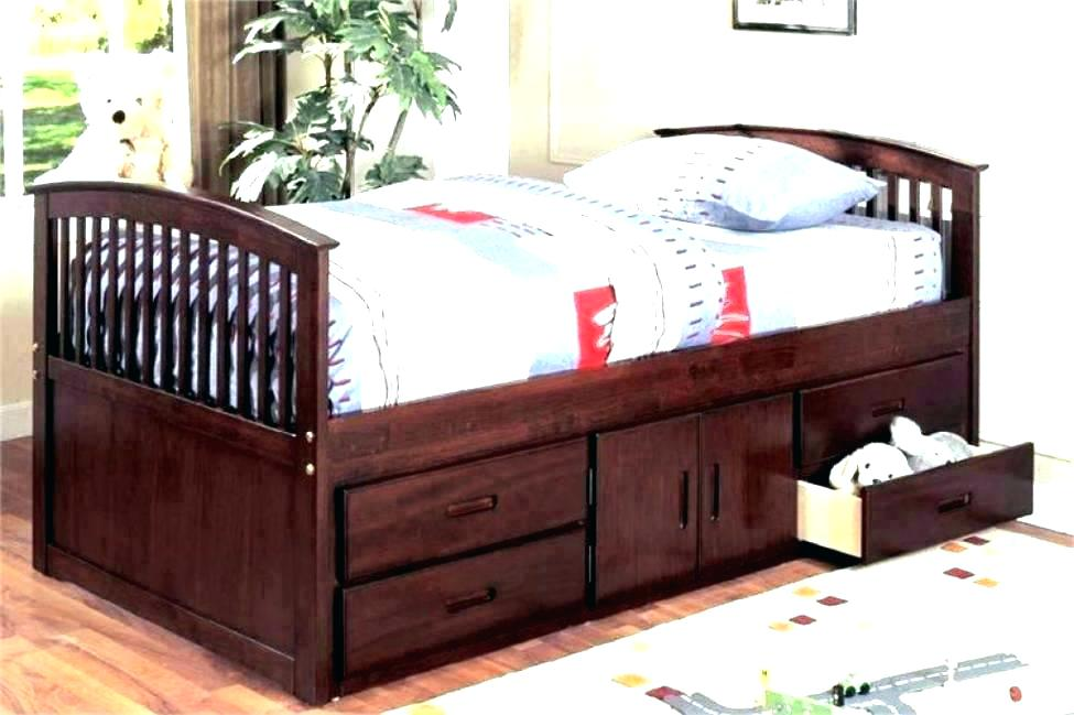 Image of: Perfect Corner Twin Beds with Storage