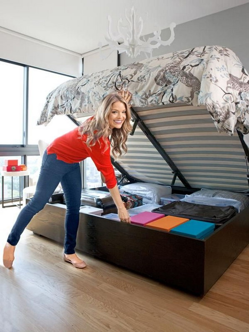 Image of: Pictures Of Under Bed Storage Ideas