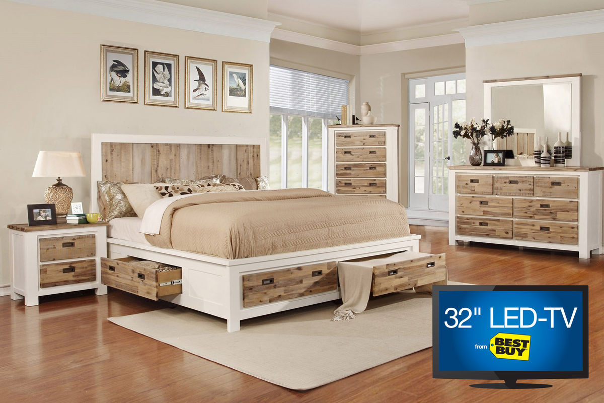 Picture of: Platform Storage Bed Sets Ideas