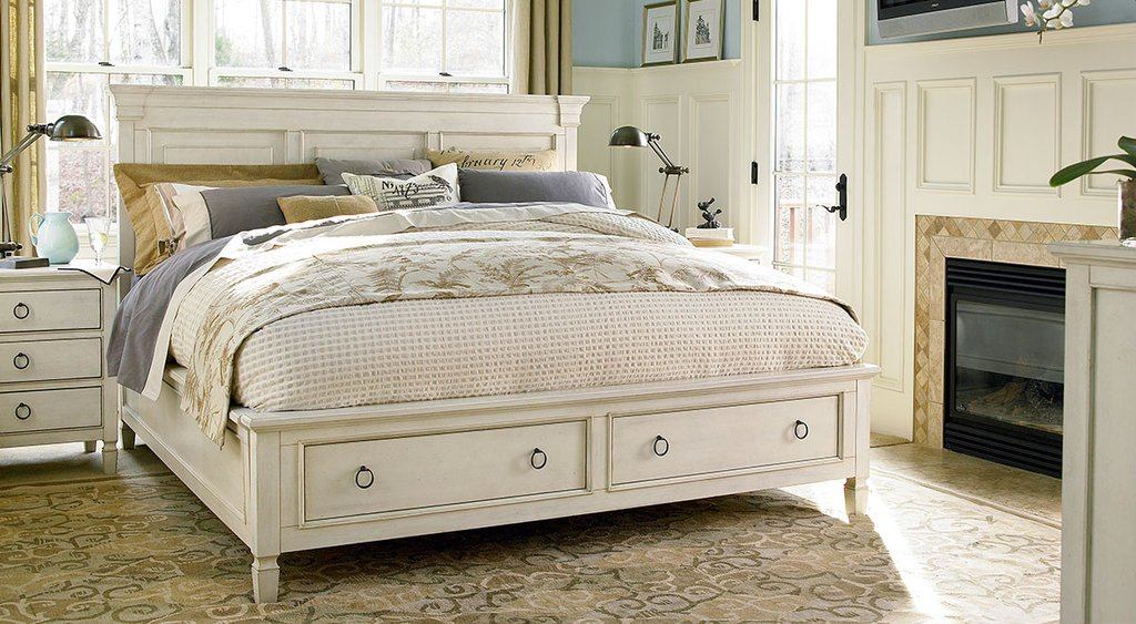 Picture of: Platform Storage Bed Sets