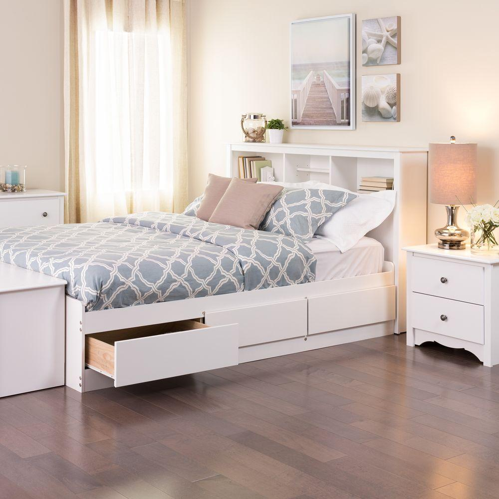 Picture of: Prepac Full Storage Bed