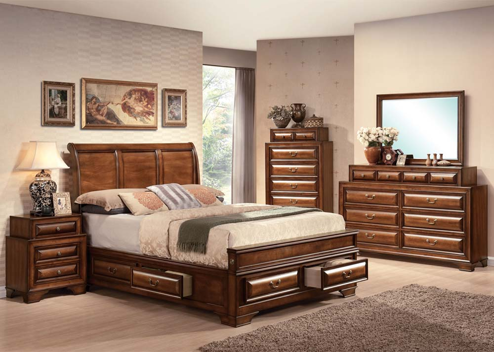 Picture of: Queen Bed with Underbed Storage Ideas