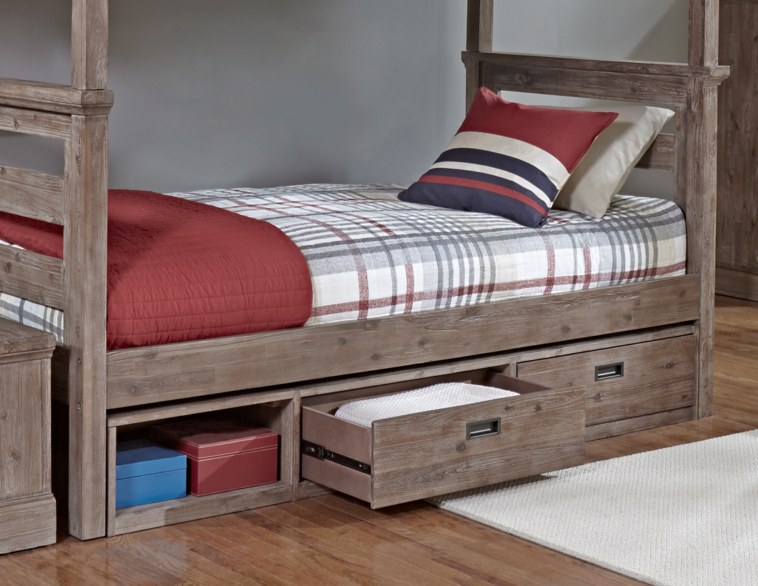 Picture of: Queen Bed with Underbed Storage