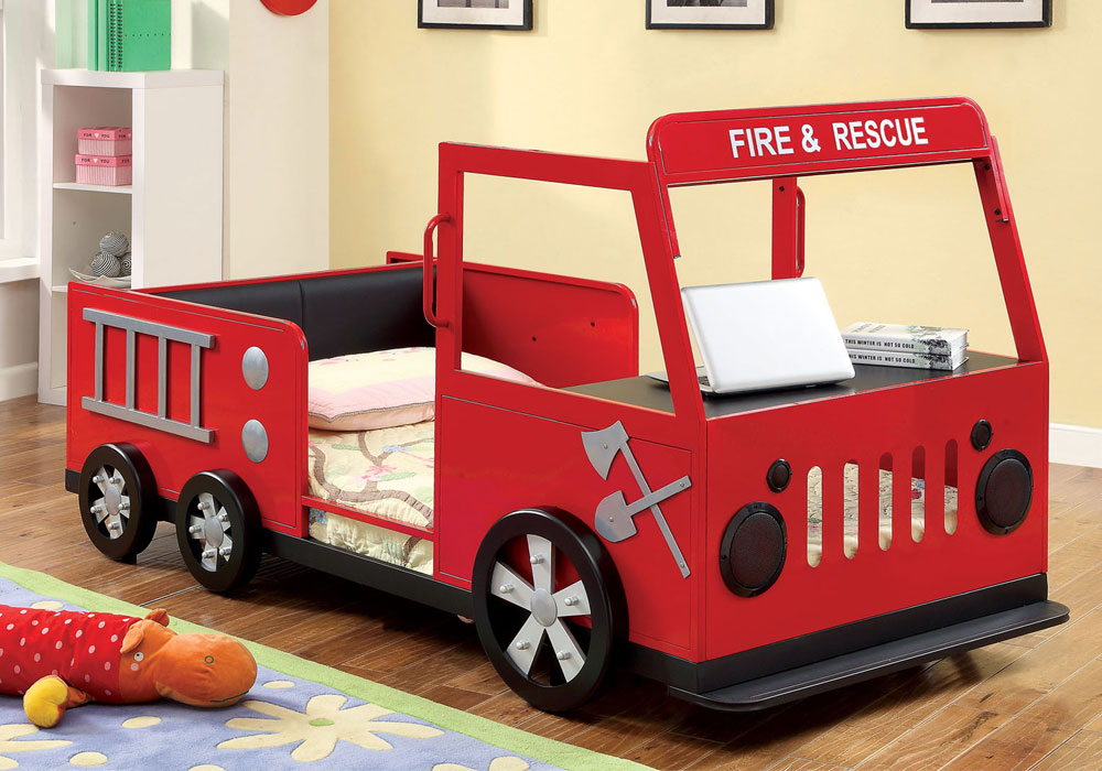 Image of: Red Truck Bed Storage Containers