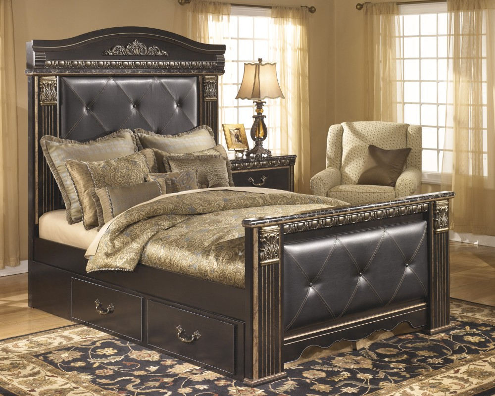Picture of: Side Mount Bed with Underbed Storage