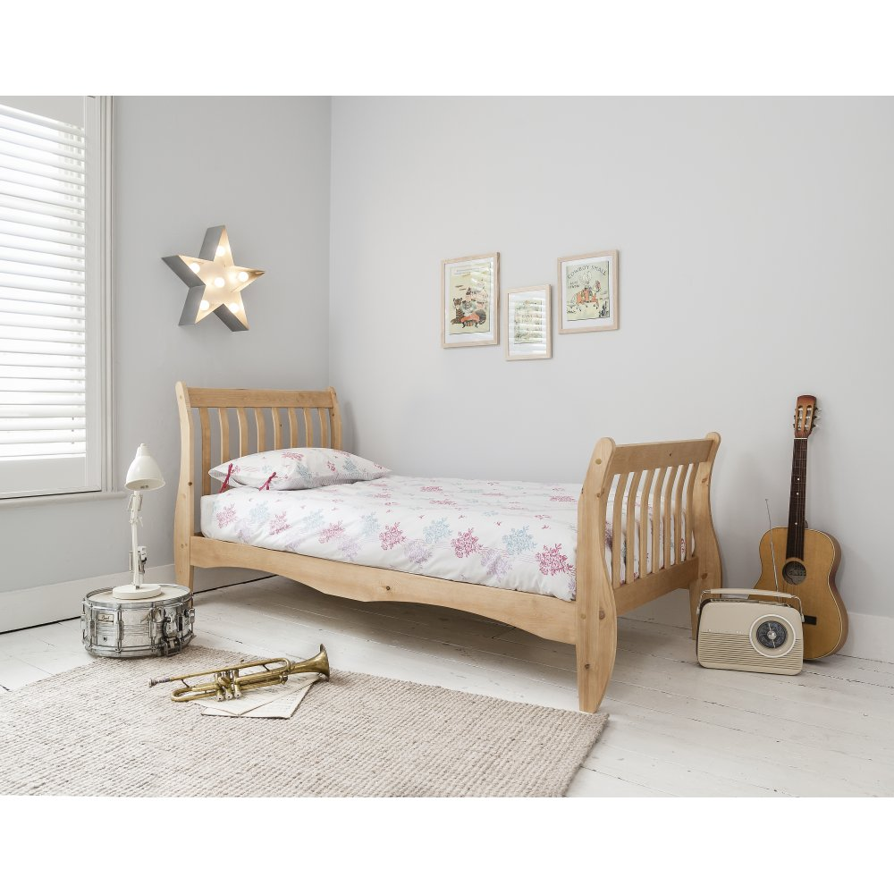 Image of: Sleigh Bed with Storage Kids