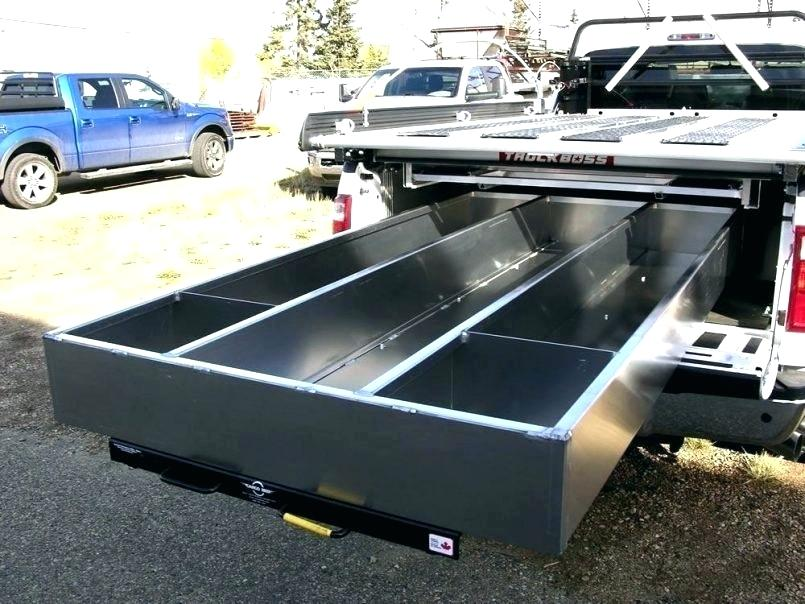 Image of: Slide Out Truck Bed Storage Drawers