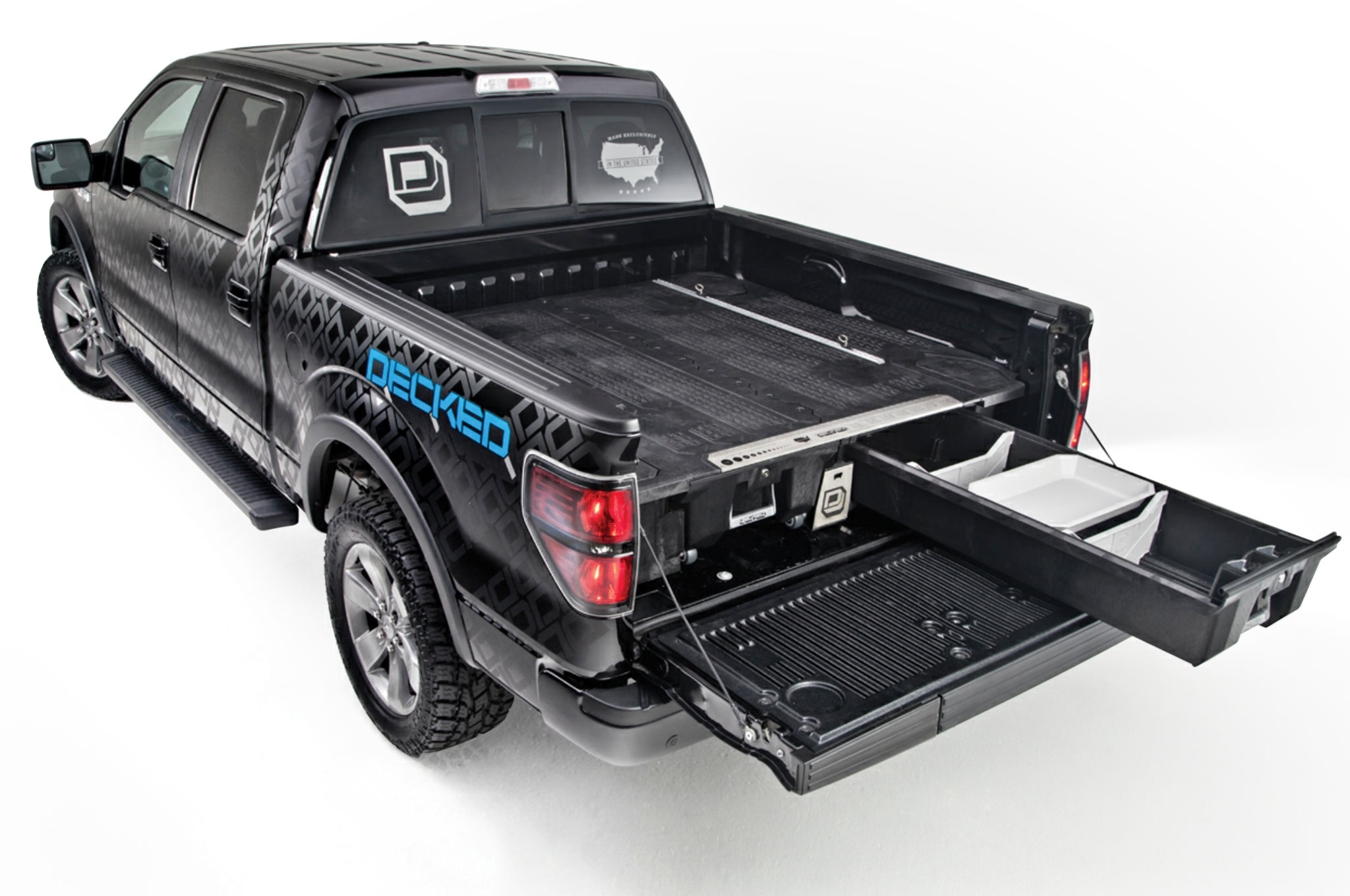 Image of: Slide-Out-Truck-Bed-Storage-Net
