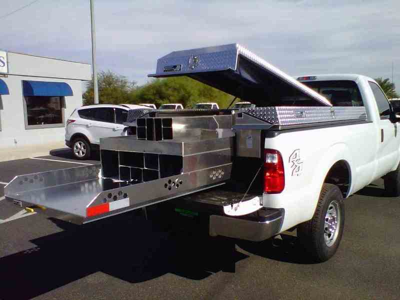 Slide Out Truck Bed Storage Tacoma