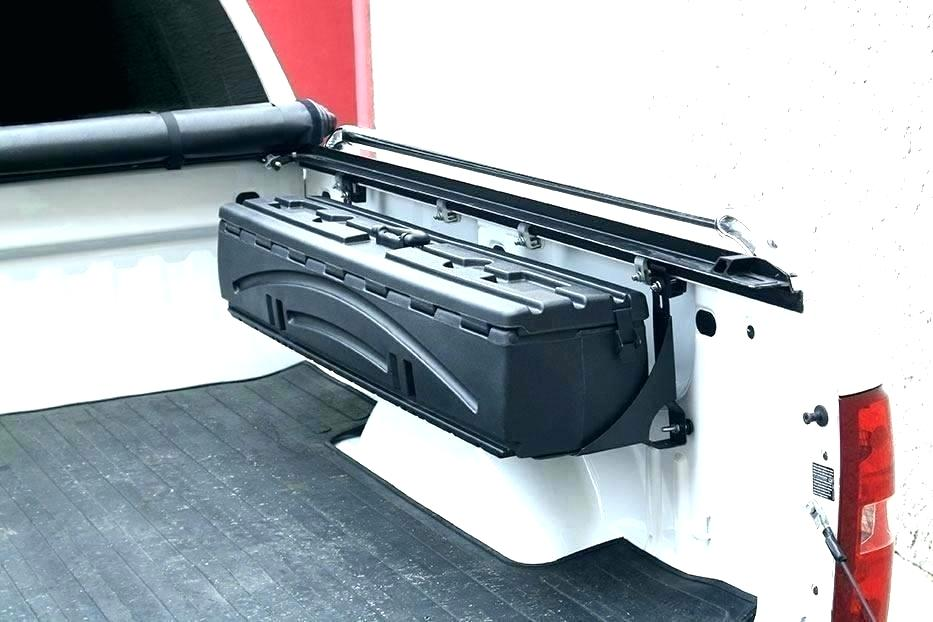Image of: Slide out Truck Bed Storage Box