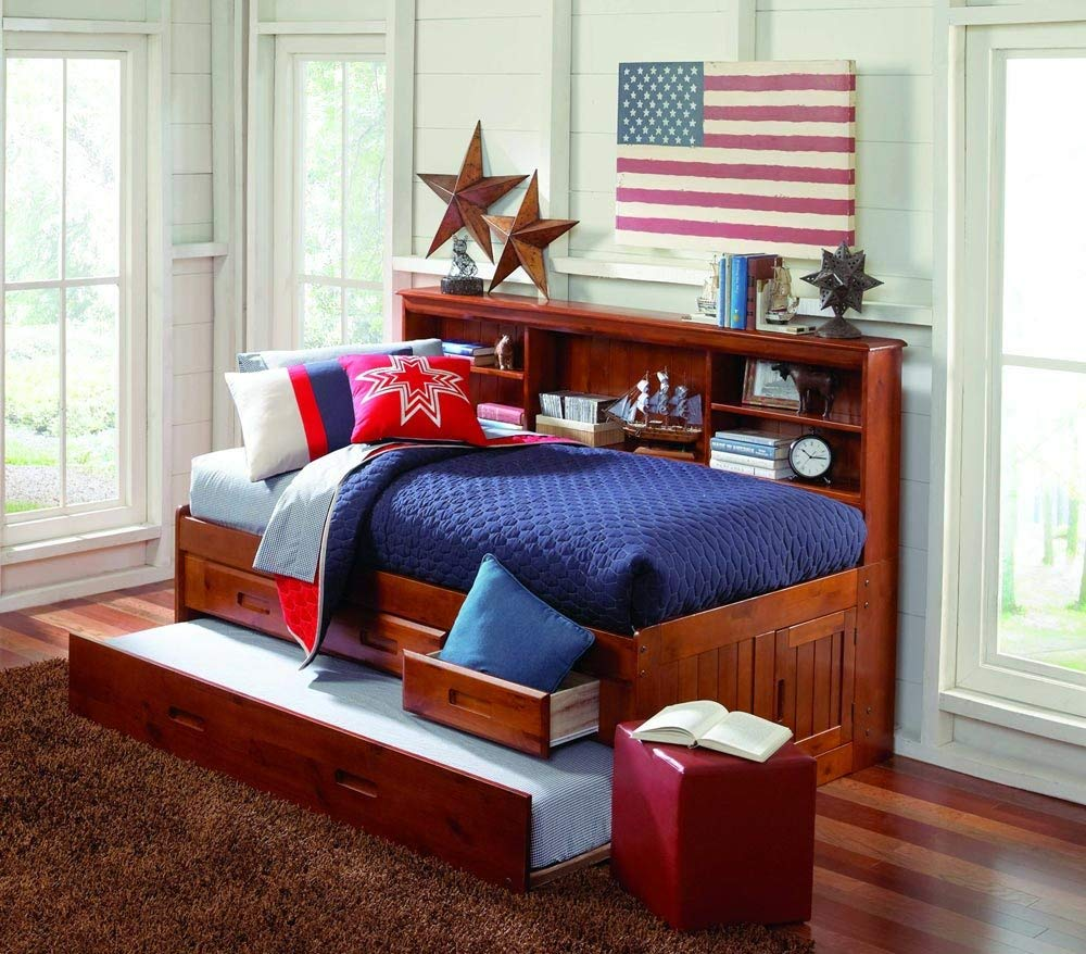 Small Twin Bed With Trundle And Storage