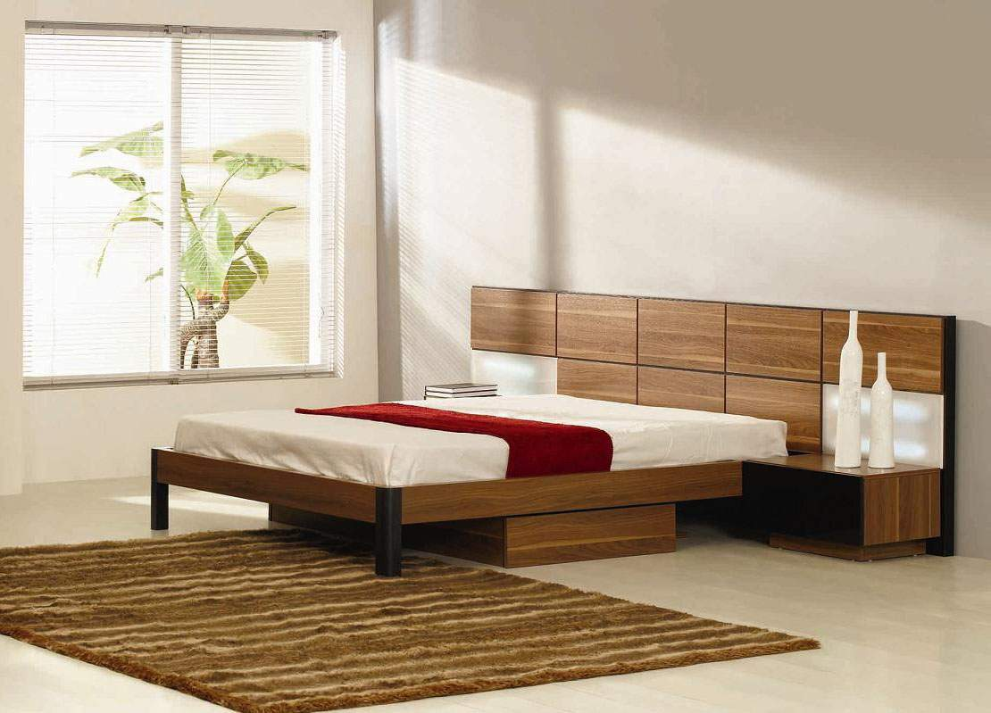 Solid Wood Storage Bed Ideas