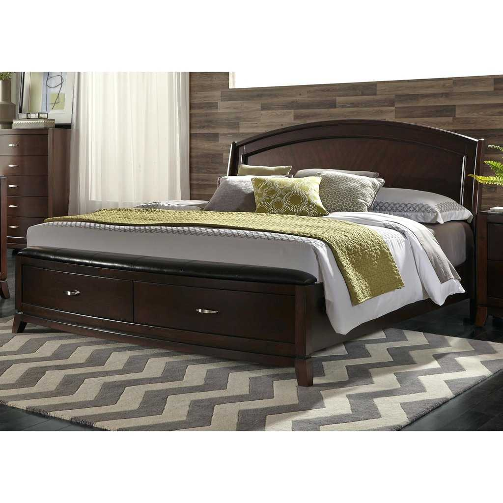 Image of: Solid Wood Storage Bed Paint
