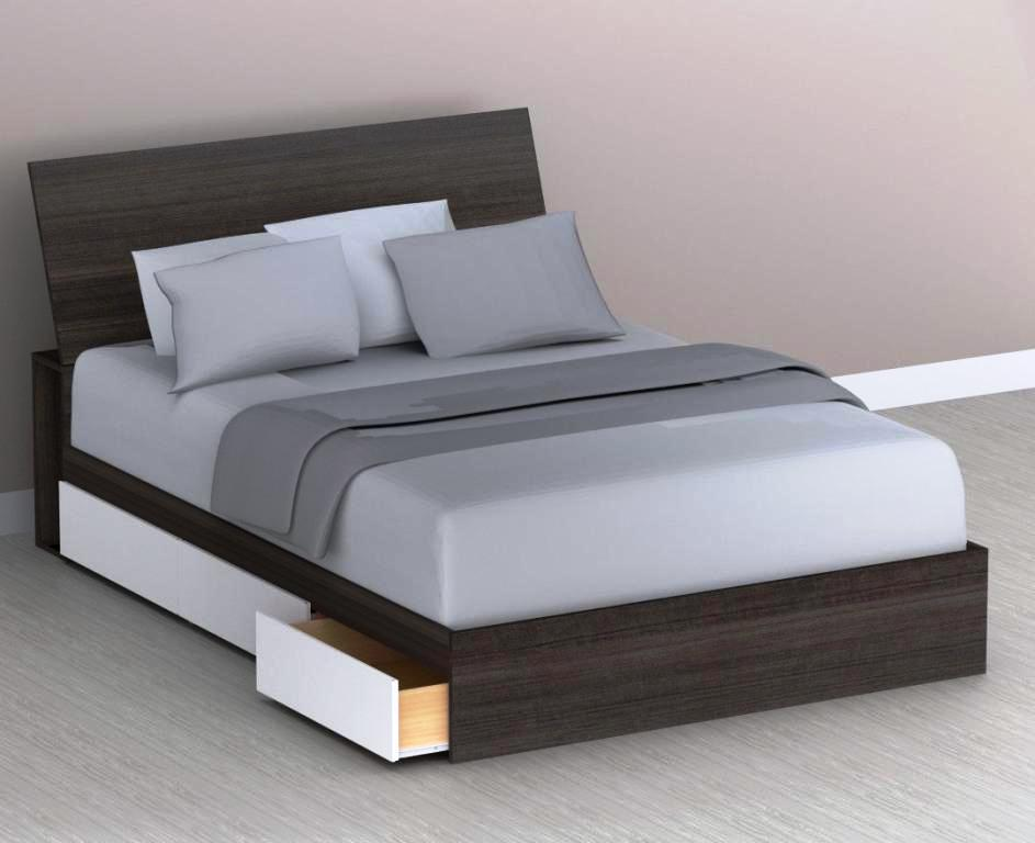 Image of: Storage Bed Plans Modern