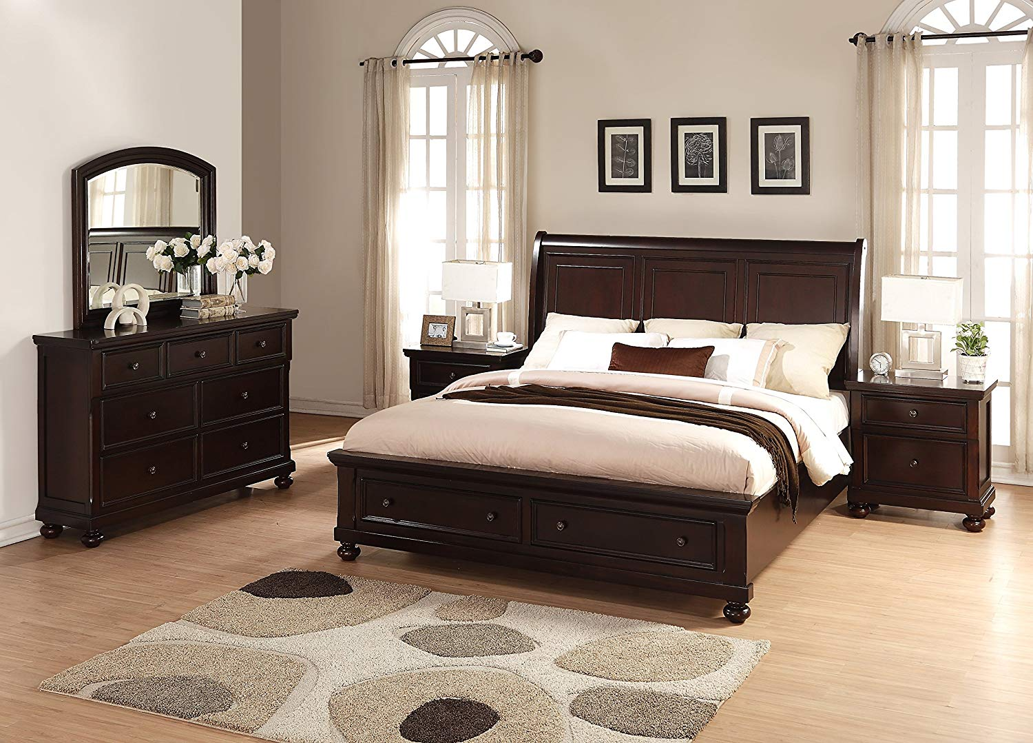 Picture of: Storage Bed Sets Full