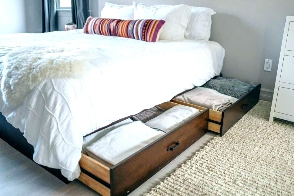 Image of: Stylish Under Bed Storage Ideas