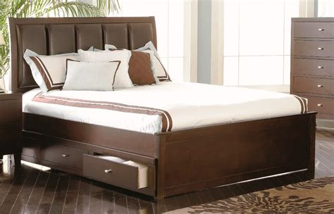 Image of: System Cal King Storage Bed