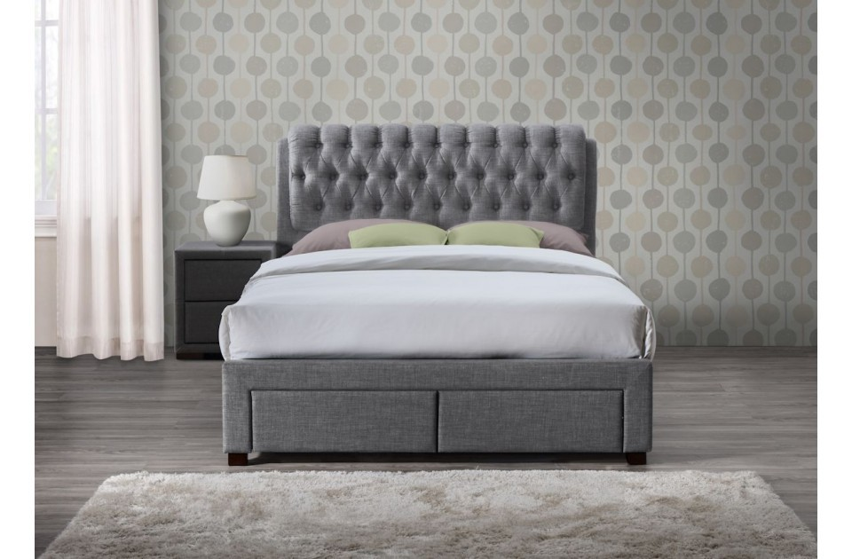 Picture of: System Grey Storage Bed