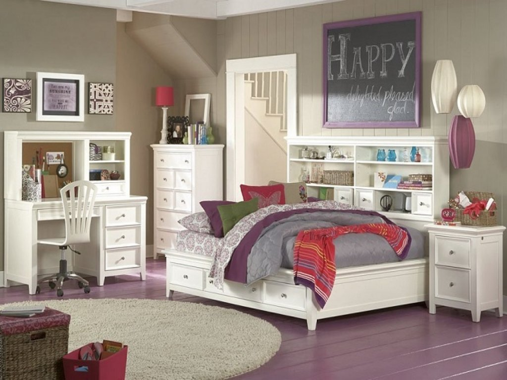 Picture of: Teen Storage Bed Furniture