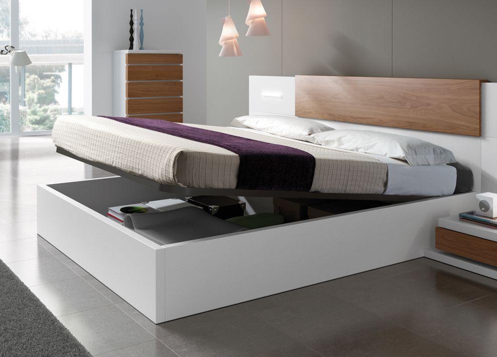Picture of: Tidy Modern Storage Bed