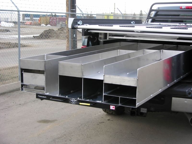 Image of: Truck Bed Slide Out Storage