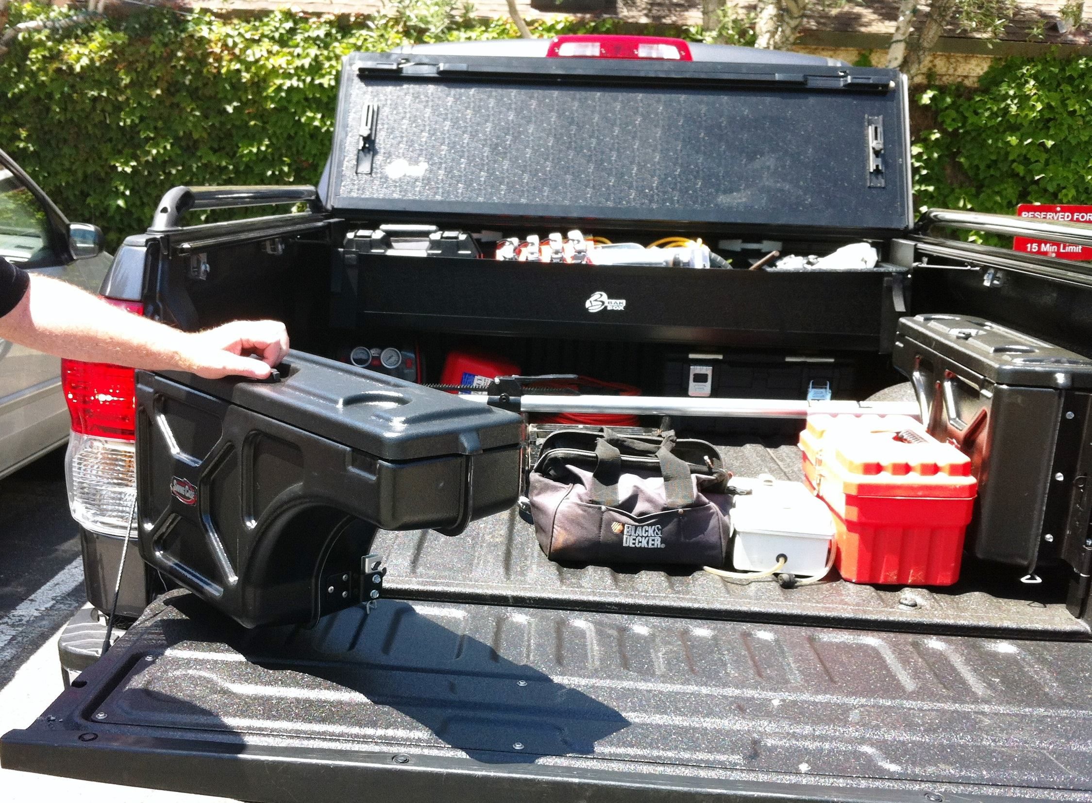 Picture of: Truck Bed Storage System Ideas