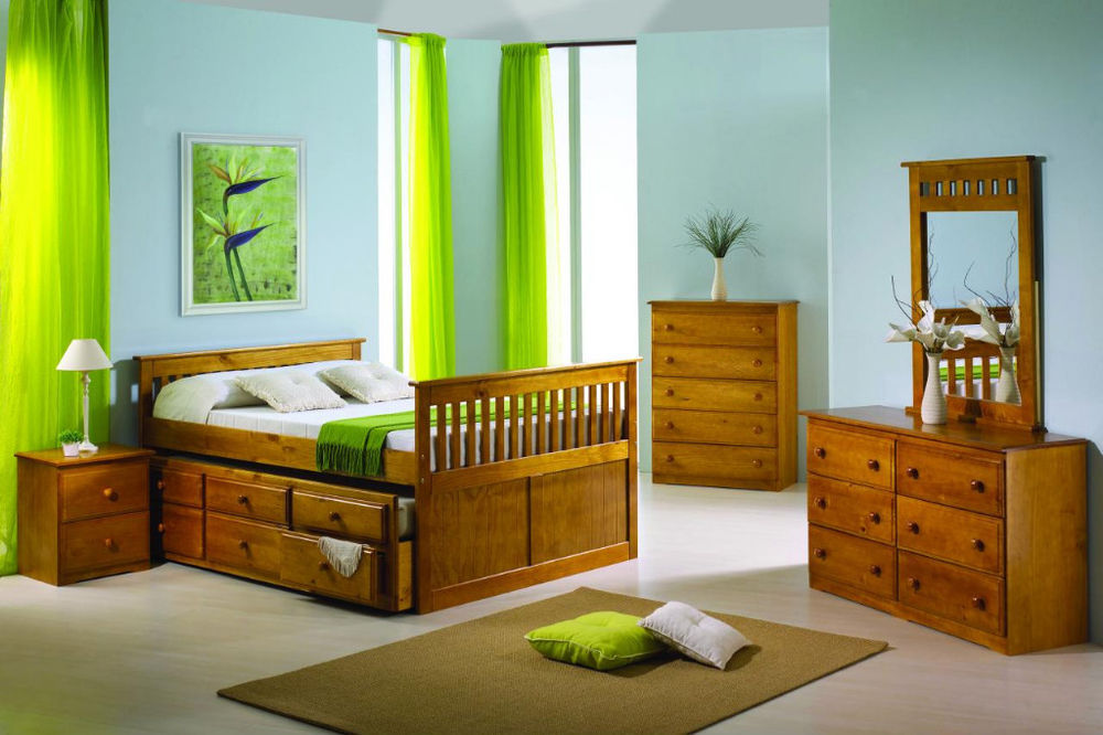 Image of: Trundle Bed With Storage Style