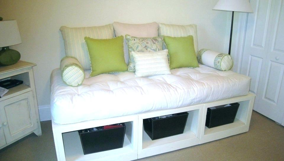 Twin Corner Beds With Storage Above