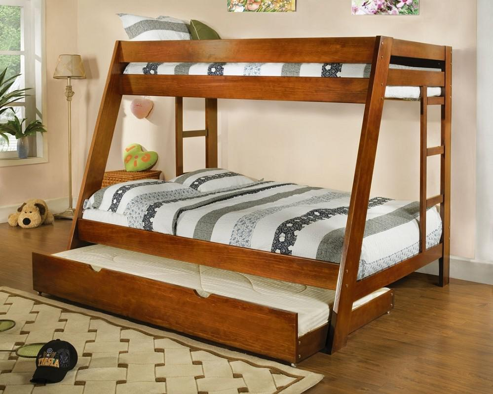 Twin Kids Bunk Beds with Storage
