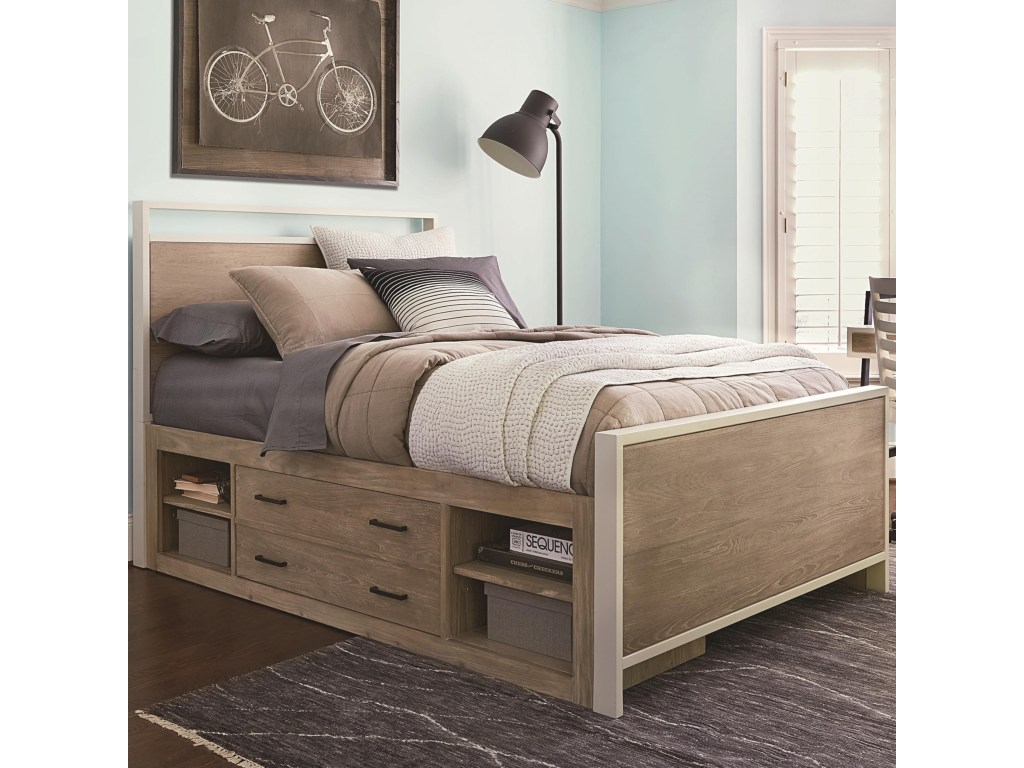 Picture of: Twin Storage Bed Ideas