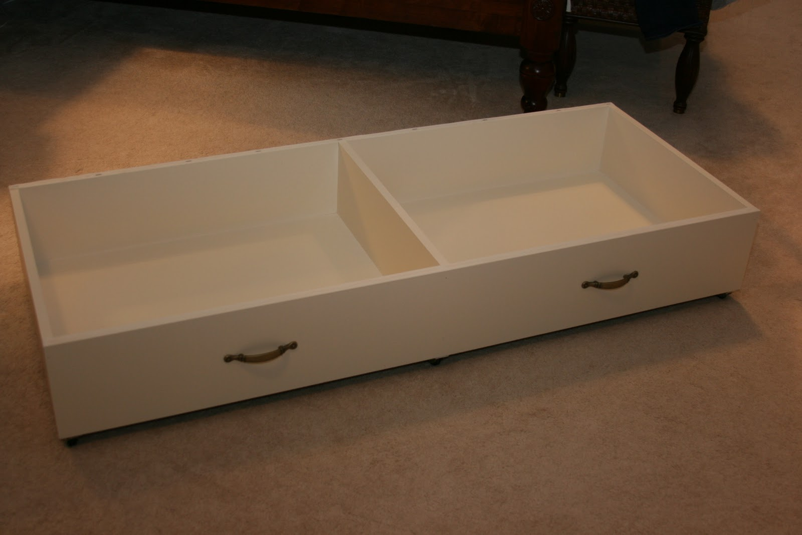 Picture of: Under Bed Storage Diy Drawer