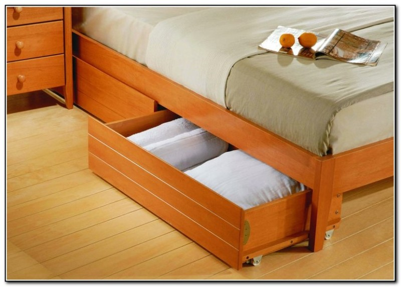 Image of: Under Bed Storage Drawers Ideas