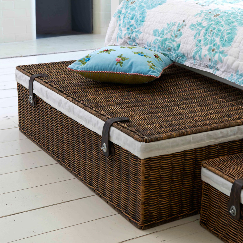 Picture of: Under Bed Storage Rattan Box