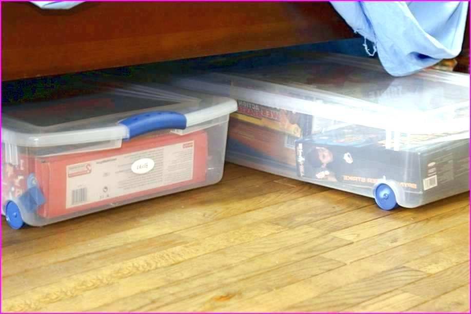 Image of: Under Bed Toy Storage Design